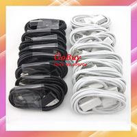 Retail 10pcs white,black USB Data sync charger cable for Samsung Galaxy Tab/ P6200/P6800/ P1000/ P7100/P7300/P7500/P3100/P5100