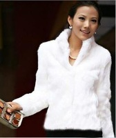 2014 new style faux fur Women's slim fashion fur coat long-sleeve stand collar overcoat outerwear coats winter warm clothing