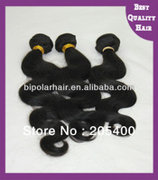 2013 cheap unprocessed virgin Brazilian hair weft body wave