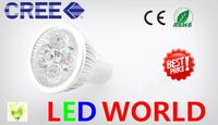 Promotion default base GU10  3x3W 9W 3x4W 12w 3x5W 15wGU10 Non-Dimmable LED Light  Bulb Downlight Led Light Spotlight 85-265v
