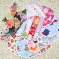 Free Shipping 20pcs/Lot Cartoon Baby Burp Cloths Waterproof Bib Many Styles Wholesale Price CL0300