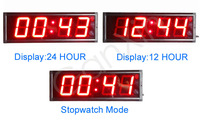 7 segment led display 4 digit led wall clock led digital wall clock