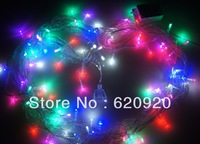 free shippingRetail & Wholesale 100 LED String Light 10M 220V Decoration Light for Christmas Party Wedding 5Colors Free Shipping