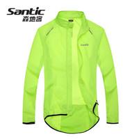 SANTIC Cycling windproof jacket Sports Men Women Wear Riding Breathable Reflective Jersey Cycle Clothing Long Sleeve Coat Jacket
