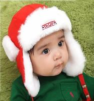 New Arrive 5 Colors Solid Color Velvet Ear Snow Hats Children Bomber Hats Boys Girls Warm Winter Caps Kids Gift Free Shipping