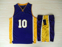 # 10 Los Angeles L-K  Nash  The new  Basketball uniforms free shipping