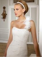 Vestido De Noiva Sereia 2014 Plus Size Salomon Sexy dress bride wedding gowns Romantic Mermaid Organza Wedding Dresse Real Photo