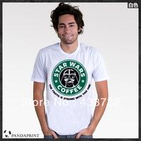 Starwars logo men t shirts/ mens short-sleeve  top  sport t-shirt