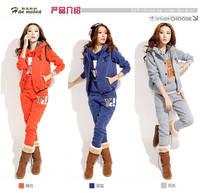 August fanglef !!!Hot sale women 's jacket coat sports hoodie set,fashion hoodies,letters sweatshirts ,(sweater, pant, vest)!