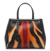 Women's Fashion Color Block Plaid Embossed Shaping Bag Cross-body Handbag Belianno Autumn & Winter 2013 DZ - 3016