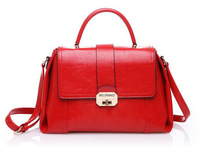 Women's Fashion OL Outfit Exquisite Lockbutton Briefcase Lady All match Cross-body Handbag Belianno 2013 DZ - 1335A