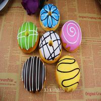 retail 1set =6pcs NEW 10cm donut squishy wrist pad / monse pad free shipping