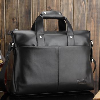 2013 fashion men's messenger bags,genuine leather laptop bag,business shoulder bag #292