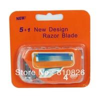 Factory Price Generic US&RU&Euro Men's 5/f Blades FP Razor Blade Shaving 4 pcs=1pack