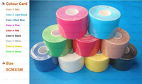New High quality  5cmx5m Kinesio tape water Resistant sports tape,kinesiology tape muscle tape, mix color