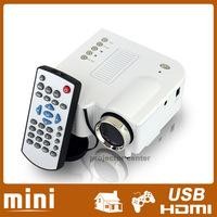New Micro Portable LCD Video Mini LED Projector HDMI USB VGA for Home Cinema Game PS3 Xbox