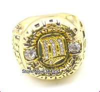 Free shipping! Replica 18K Gold Plated fashion 1987 Minnesota Twins world series championship rings for gift.