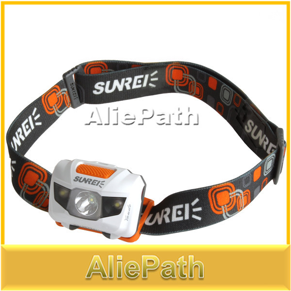 Sunree 4 Mode Waterproof Cree LED Headlamp Headlight Handy Motile Head Light Lamp for bicycle outdoor spoot fish running(China (Mainland))