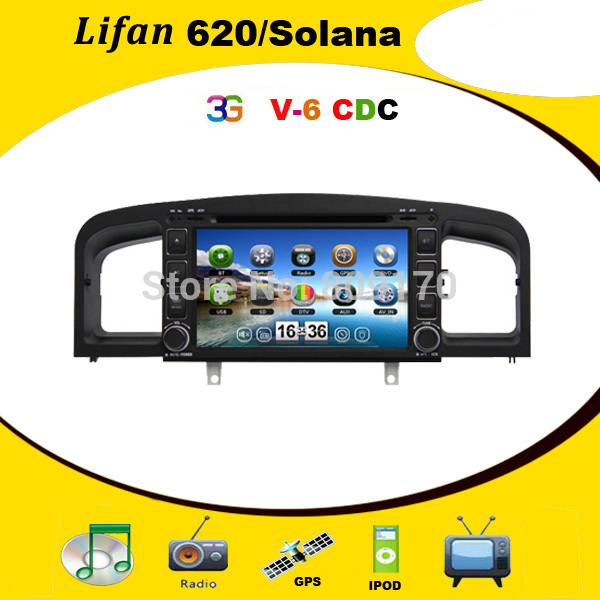 Автомобильный DVD плеер AE 7 Lifan 620 /dvd GPS BT iPOD USB/SD, 3G ,  4 автомобильный dvd плеер isudar 2 din 7 dvd ford mondeo s max focus 2 2008 2011 3g gps bt tv 1080p ipod