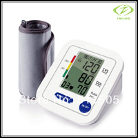 New Upper Arm Blood Pressure / Pulse Monitor Automatic LCD Sphygmomanometer