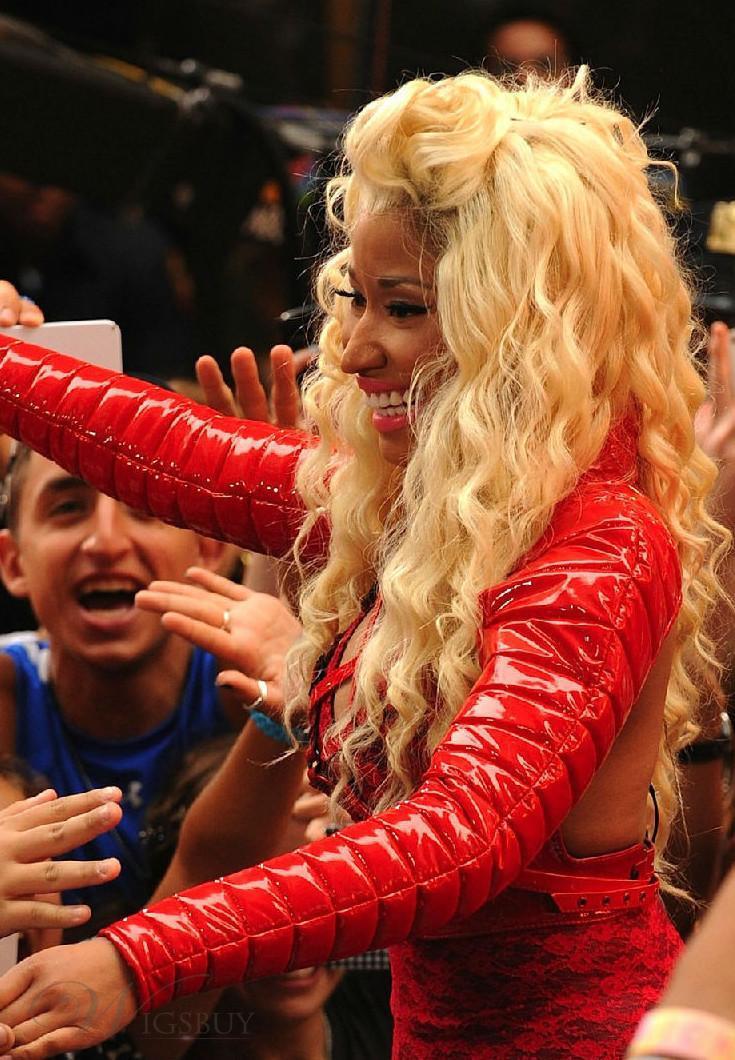 Nicki Minaj Straight Hair