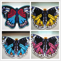 Free shipping beautiful blue butterfly carpet /rug for bedroom/floor 80*50cm/120*70cm/180*110cm