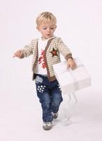 Kids Boys Casual Jackets & Coats Clothing Set Children Outerwear Sweatshirt Hoodies T Shirt Jeans Pants clothing sets Retail