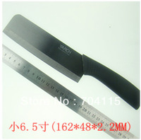 "Free Shipping   ""6.5""  inch Black Chef  Wide Ceramic Knife"