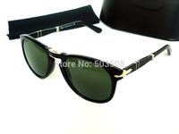 fashion sunglasses men persol sunglasses 714 black sun glasses women unisex
