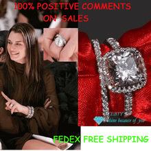 cheap cushion cut engagement rings