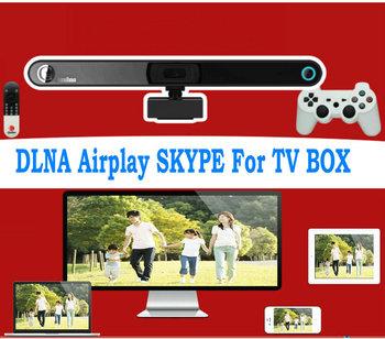 2013 Skype Camera Smart TV Box Games Android 4.1 Quad Core RK3066 A9 8gb set-top boxes Remote Bluetooth Dlna Rj45 Wifi HDMI USB