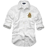 Free shipping  men 2013+Men's shirts  Sleeve Shirt slim fit ,Polo shirt ,cotton,  size S-XXL  2 color