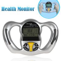 Digital LCD Mini Handheld BMI  Body Monitor Health Analyzer tester  with 5 Levels for Reference