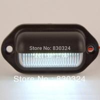 12V 6-LED BLACK CABIN Courtesy Light for BOAT/STAIR/CARAVAN