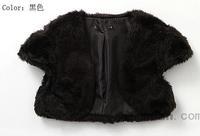 Cotton fashion sexy faux women's kaross cape s3319