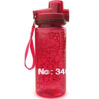 Cute Hello Kitty space water bottle 550ml travel kettle free shipping