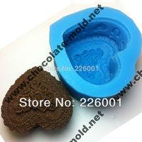 birthday cake Chocolate mold Cake mold cooky mold LZ0102 silica