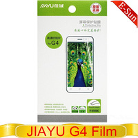 JIAYU G4 Grade Anti-fingerprint Film For JIAYU G4 MTK6589T Android phone free shipping