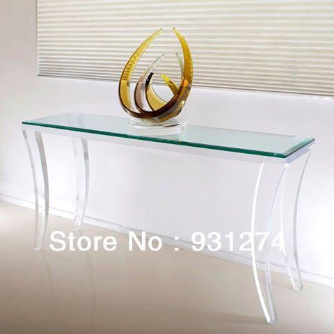 Acrylic Corner Desk Corner Desk Frame/lucite