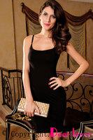 2014 New Summer Sexy Spaghetti Straps White And Black Fashion Dress One-piece Mini Dress For Women