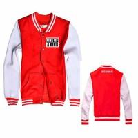 KPOP BIGBANG One Of Kind G-Dragon New Fashion Special Baseball Uniform Shirt Mixed Wholesale BQF010