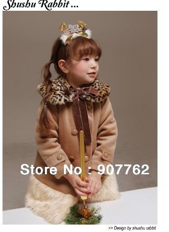Free Shipping!2014 New fashion winter kids clothing girls coat ,Hot girls coat ,Children's Clothing coat(China (Mainland))