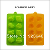 free shipping Car plane,ambulance 8 holes cookie chocolate Silicone cake baking tools ice candy soap sugar craft mold/moulds