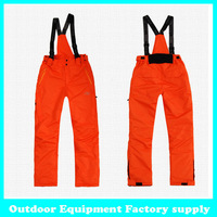 Dropshipping new outdoor Windproof Waterproof Breathable Double Layer Winter ski pants snow trousers ski Snowboarding pants man