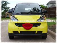 Smart mini beetle black car eyelashes eyelash set eyelash