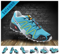 Free Shipping 2013 New Arrived Salomon Shoes womoens Athletic Shoes Salomon speedcross 3 Running shoes