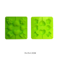 FREE SHIPPING 100% silicone cake silicone mold lollipop stick grooves / cake mould / wholesale silicone molds