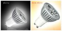 (10 pcs) LED spotlight 3W GU10 High Power warm white / white focus LED spot Lamp AC110~240V