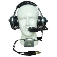 Noise cancelling aviation headset /headphone ANR-2080/pilot  headset/fly aviation headset
