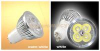 (5 pcs) 4W GU10 High Power focus Warm White /White LED spot Lamp 85~240V